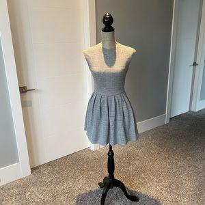 Aritzia Talula Heather Grey Mini Dress